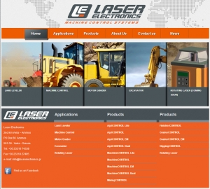 Welcome to Laser Electronics' new website